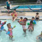 Kids at Crawford Pool