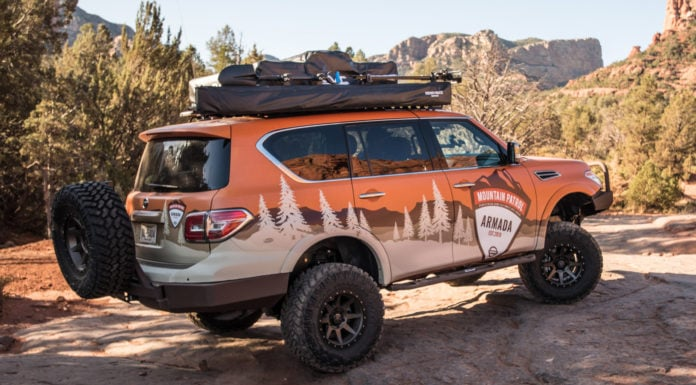 Nissan Armada Mountain Patrol