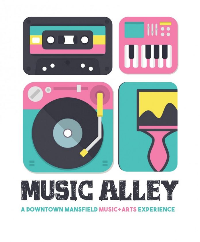 Mansfield Music Alley Music & arts festival