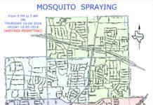 west nile virus spraying
