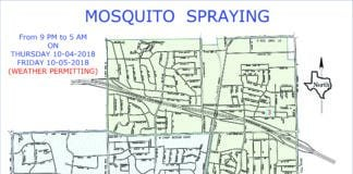 west nile virus spraying