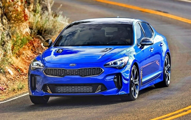 2018 Kia Stinger Sports Car Of The Year Focus Daily News