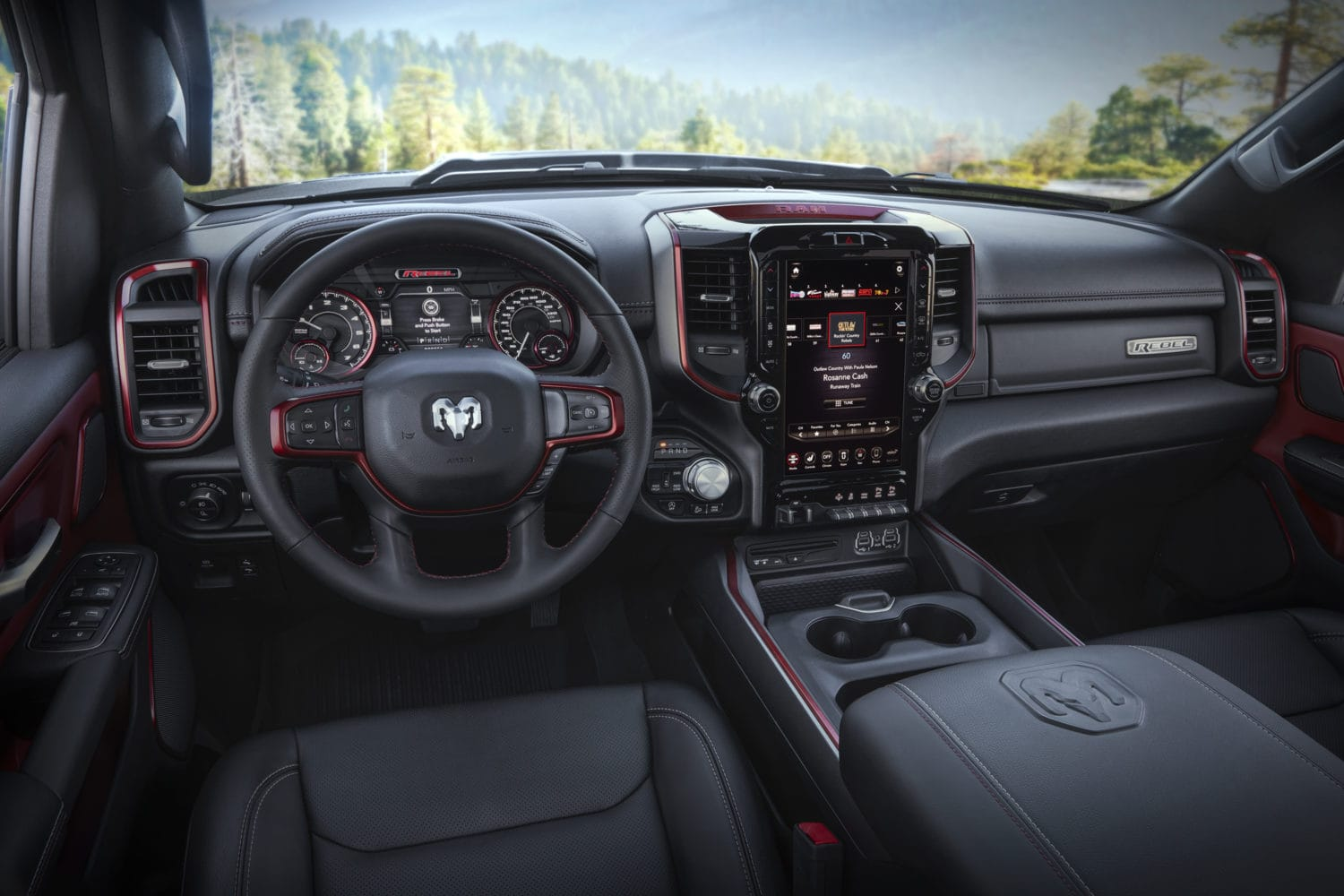 2019 Ram 1500 Rebel 12 Overall Interior Focus Daily News