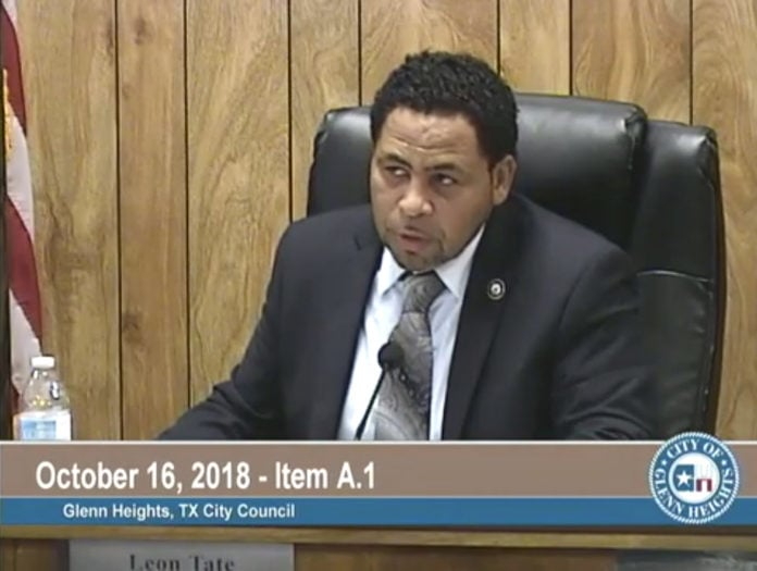 glenn heights city council removes mayor