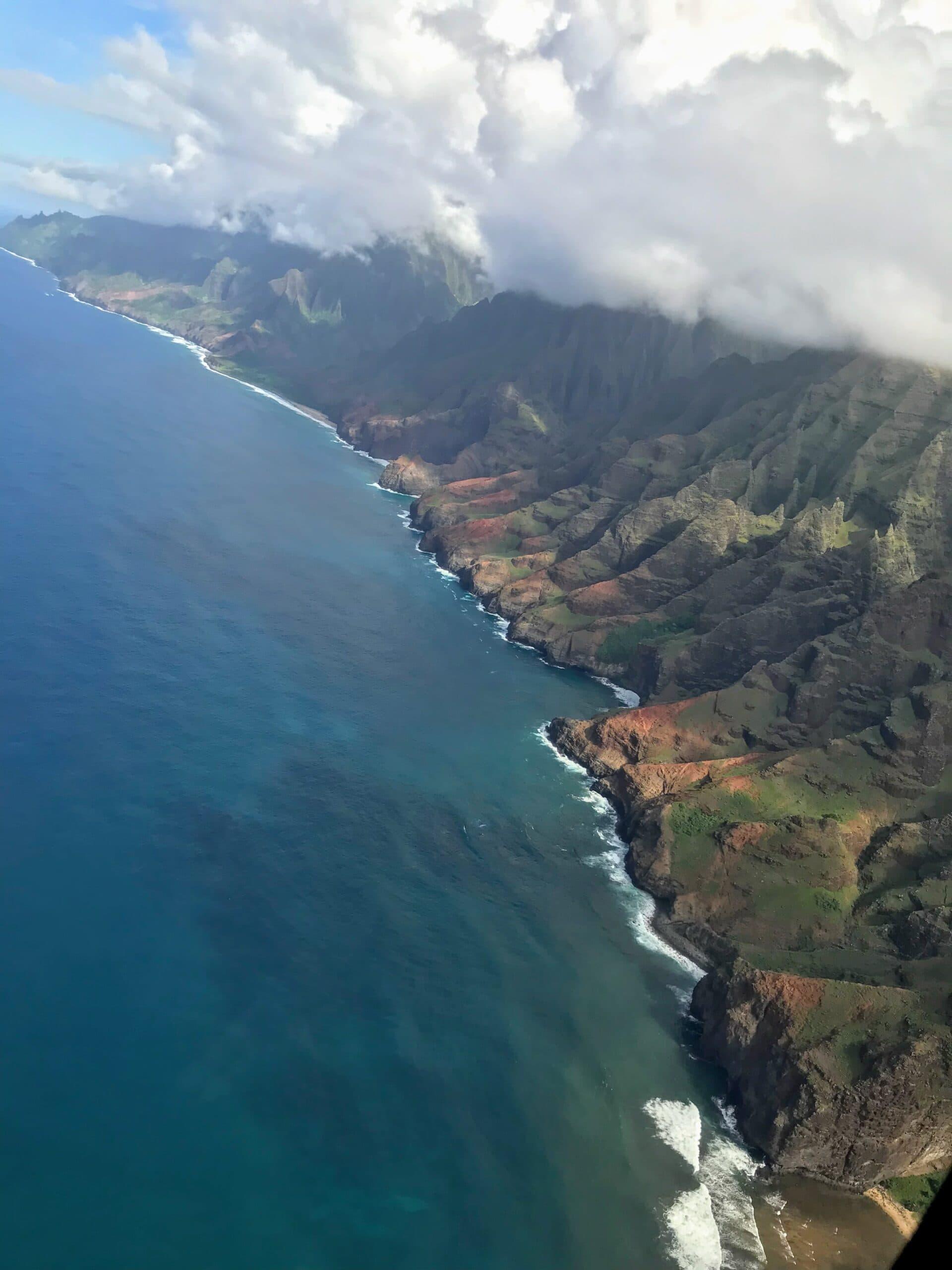 coastline of Kauaii