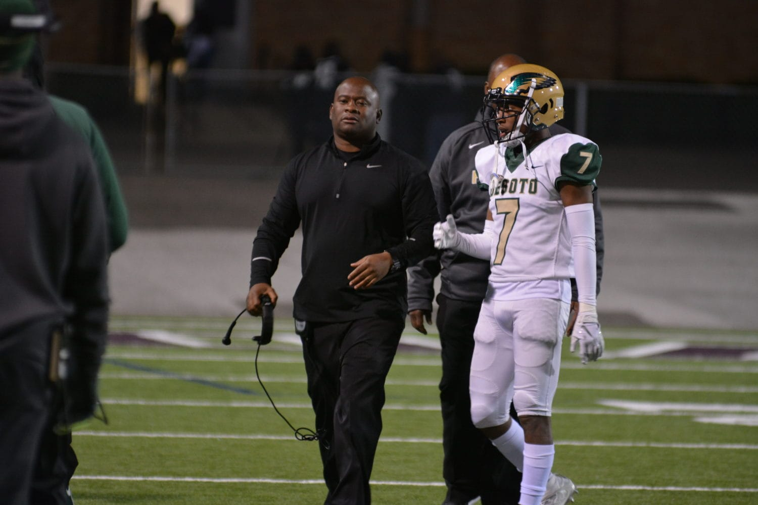 DeSoto head football coach