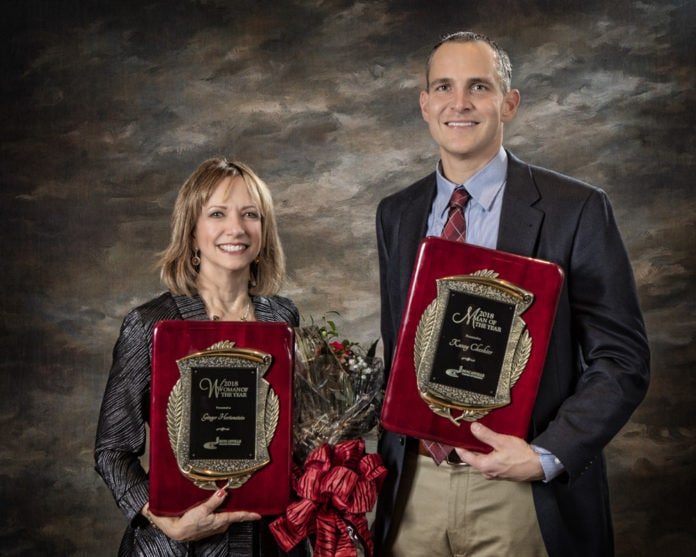 2018 Duncanville Man and Woman of the year