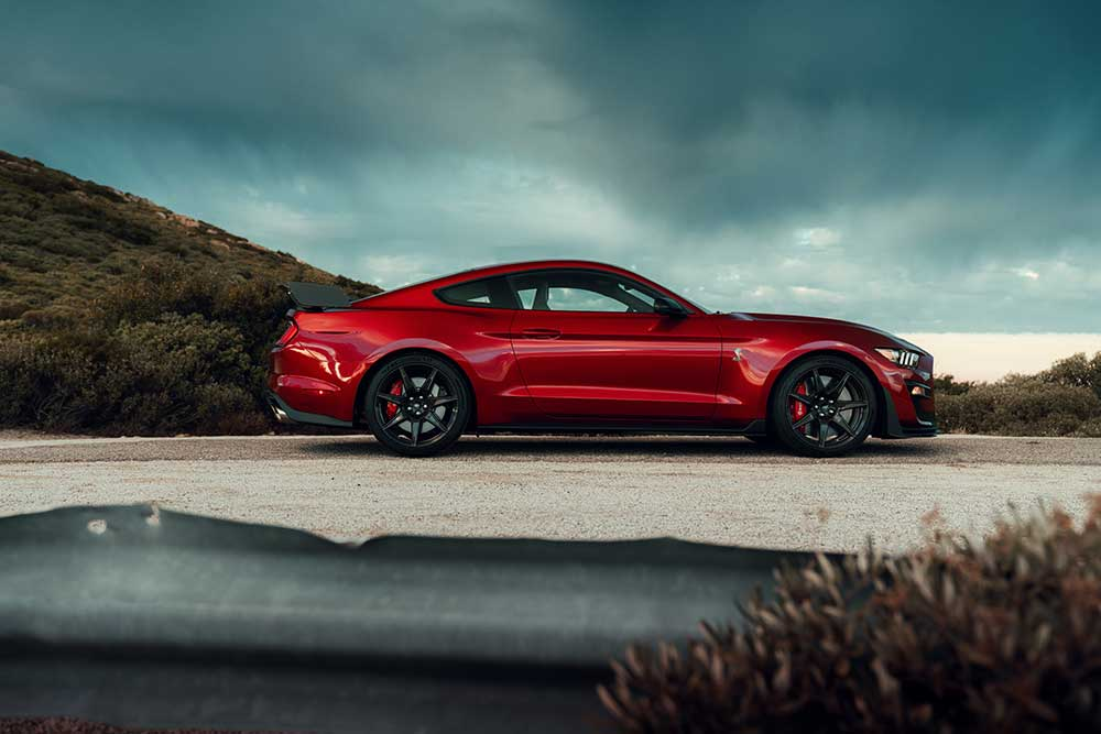 Shelby GT500 profile