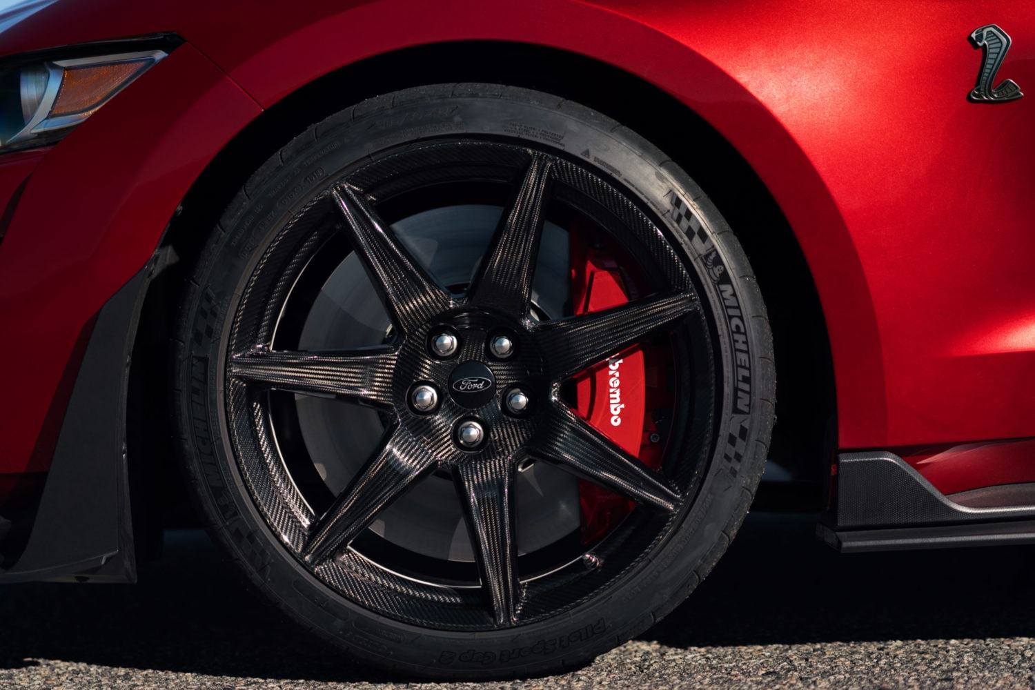 Shelby GT500 tires
