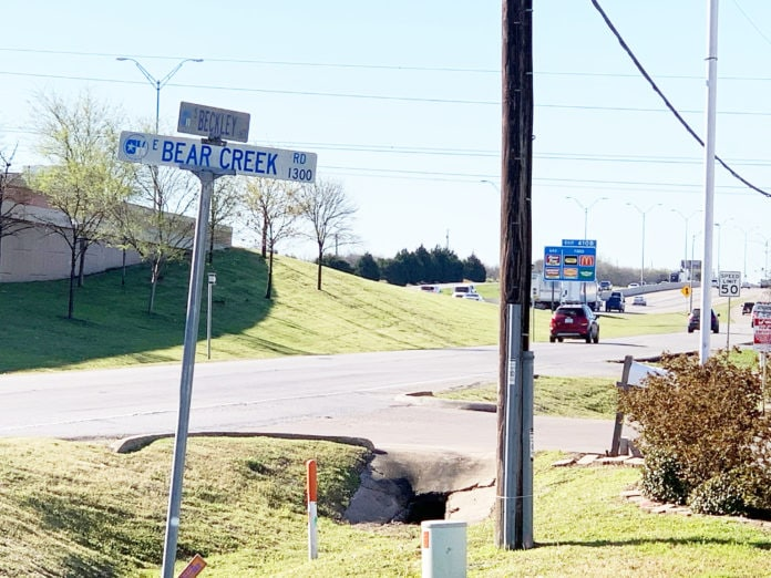 bear creek road expansion