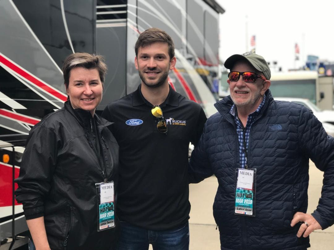 Ford Tech Trailer Daniel Suarez