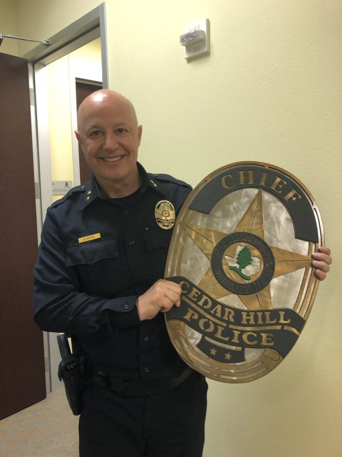 Cedar Hill Police Chief Ely Reyes