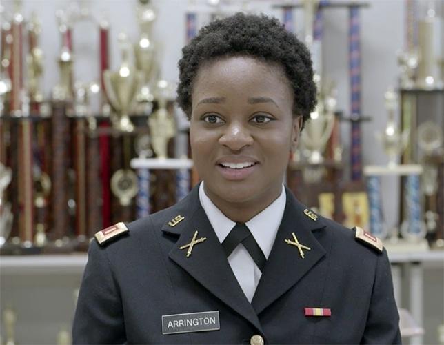 Army Second Lieutenant Jabreal Arrington