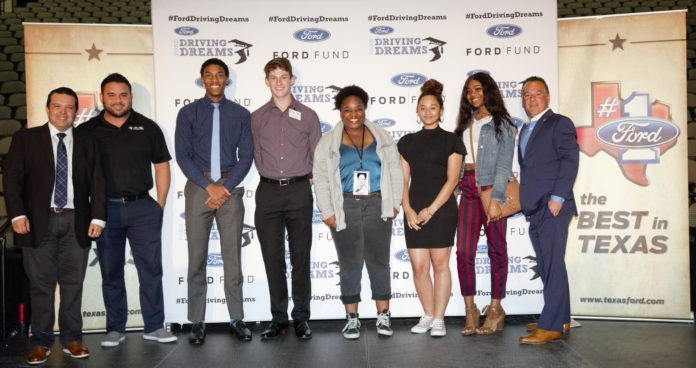 Ford Motor Company Fund Scholarship Awards