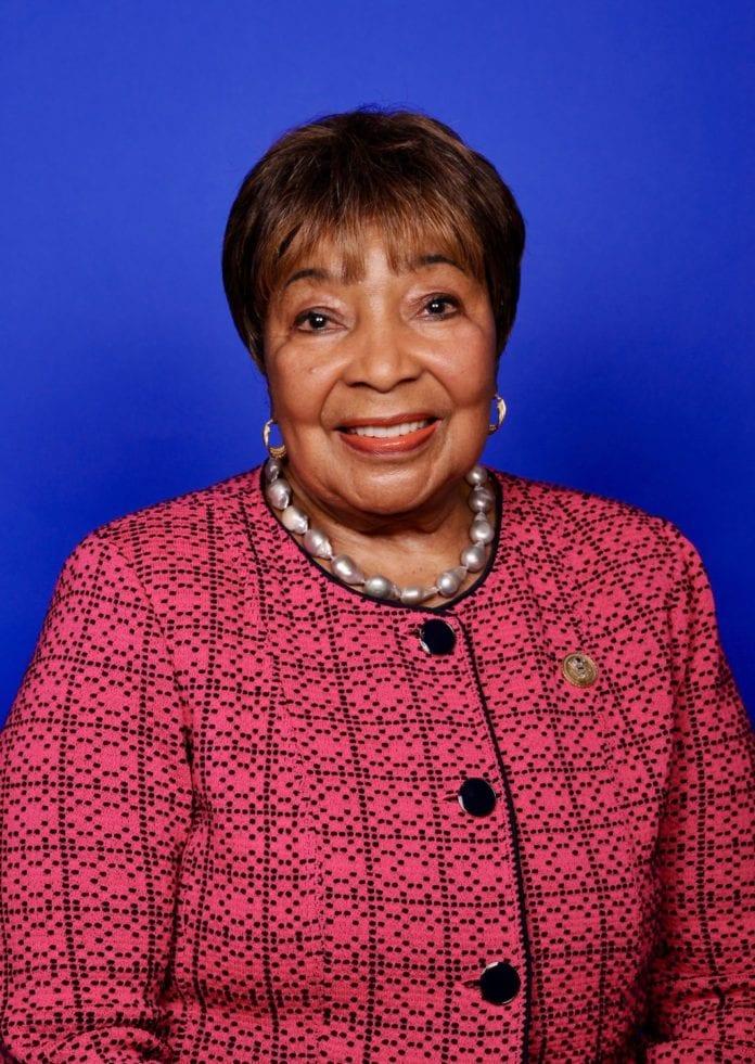 election security Congresswoman Johnson