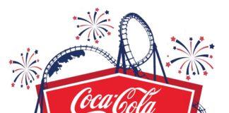 Six Flags coca cola fest 4th of July