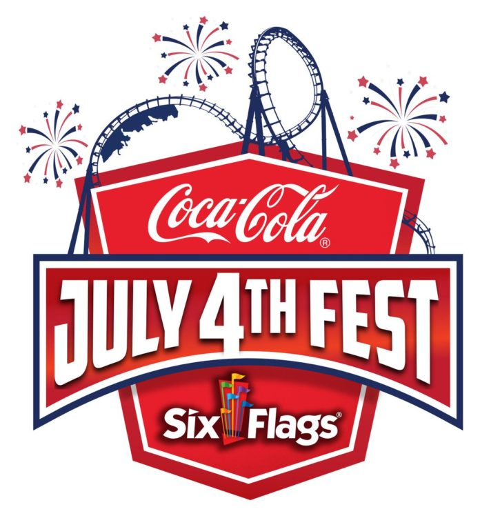 Six Flags coca cola fest 4th of July