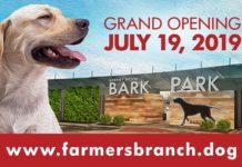 Farmers Branch Barney Wood Bark Park