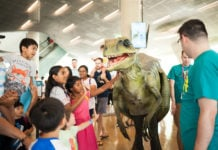 Dinon Fest Returns to Perot