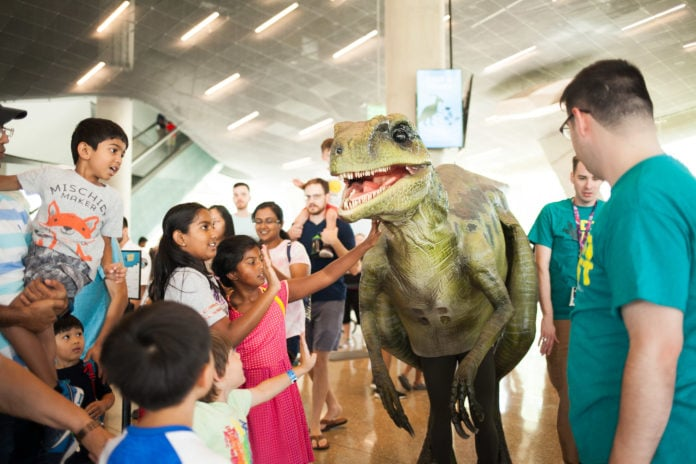 Dinon Fest Returns to Perot