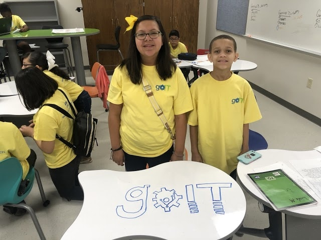 Duncanville middle schoolers take STEM training