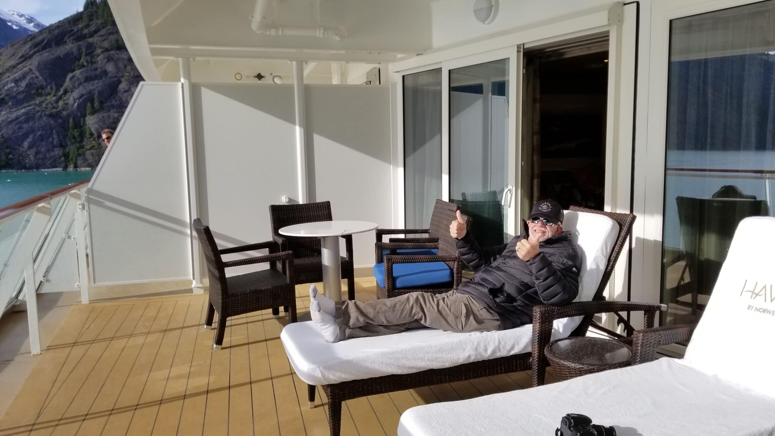 balcony on NCL Bliss