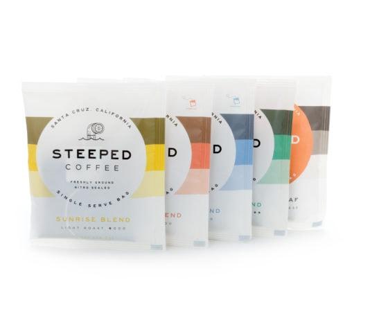 Steeped Coffee