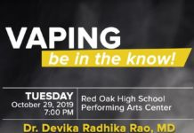 Be In the Know Red Oak ISD Vaping