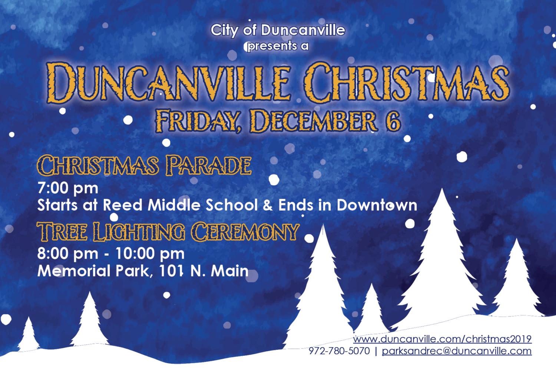 2019 Duncanville Christmas Parade