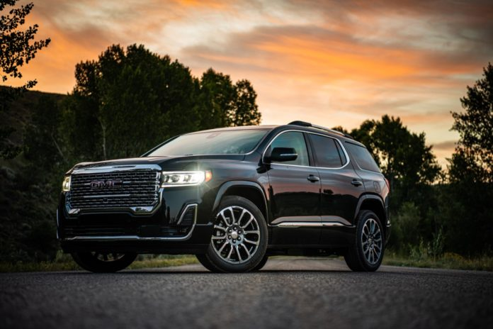 2020 gmc acadia: a modern nod to oppulence - focus daily news