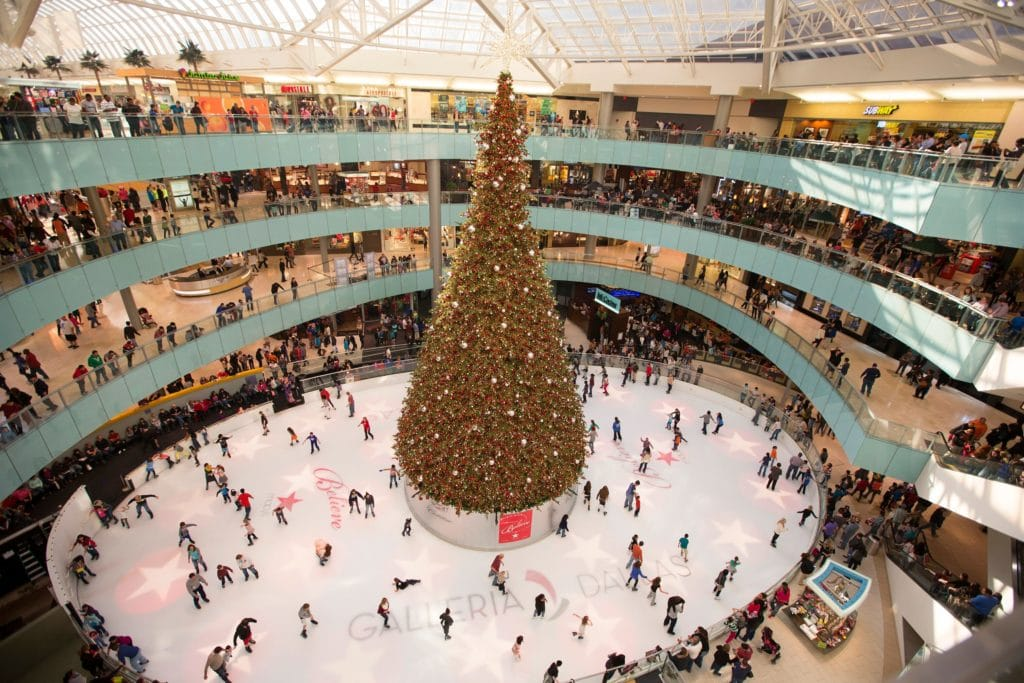 Christmas Comes Early to Galleria Dallas