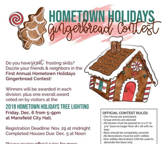 Hometown Holidays Gingerbread Contest