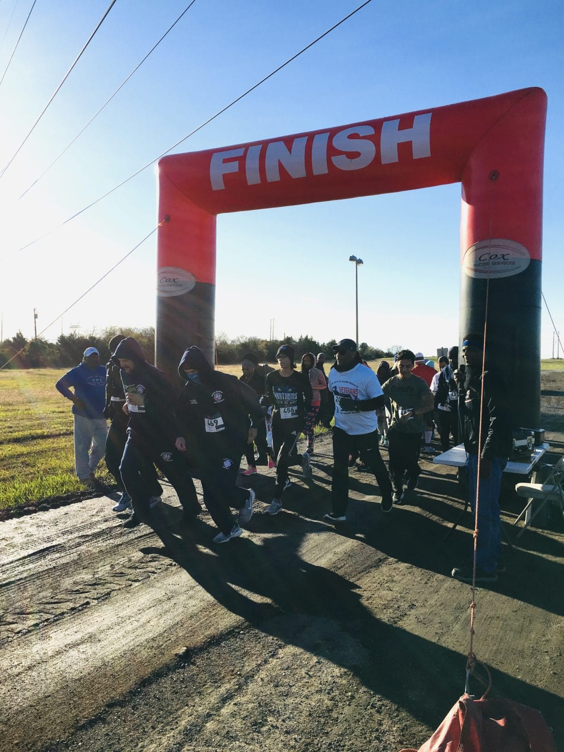 Glenn heights Veterans Day 5K