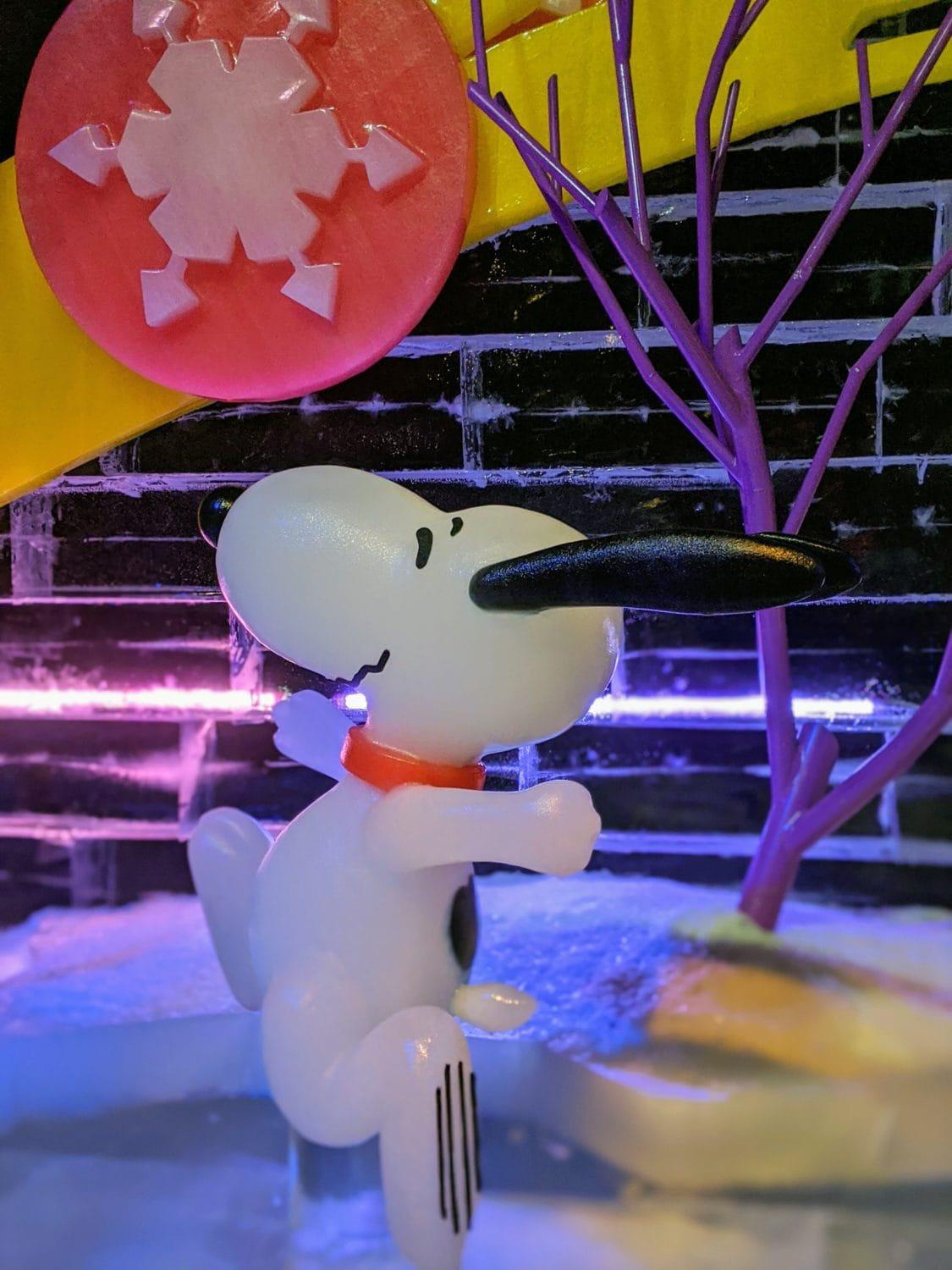 Snoopy A Charlie Brown Christmas at Gaylord Texas