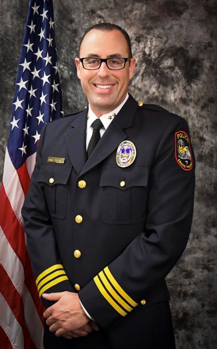 Grand Prairie Police Chief SCesney