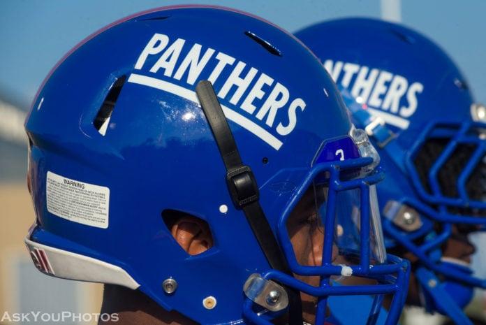 Duncanville Panthers football helmets