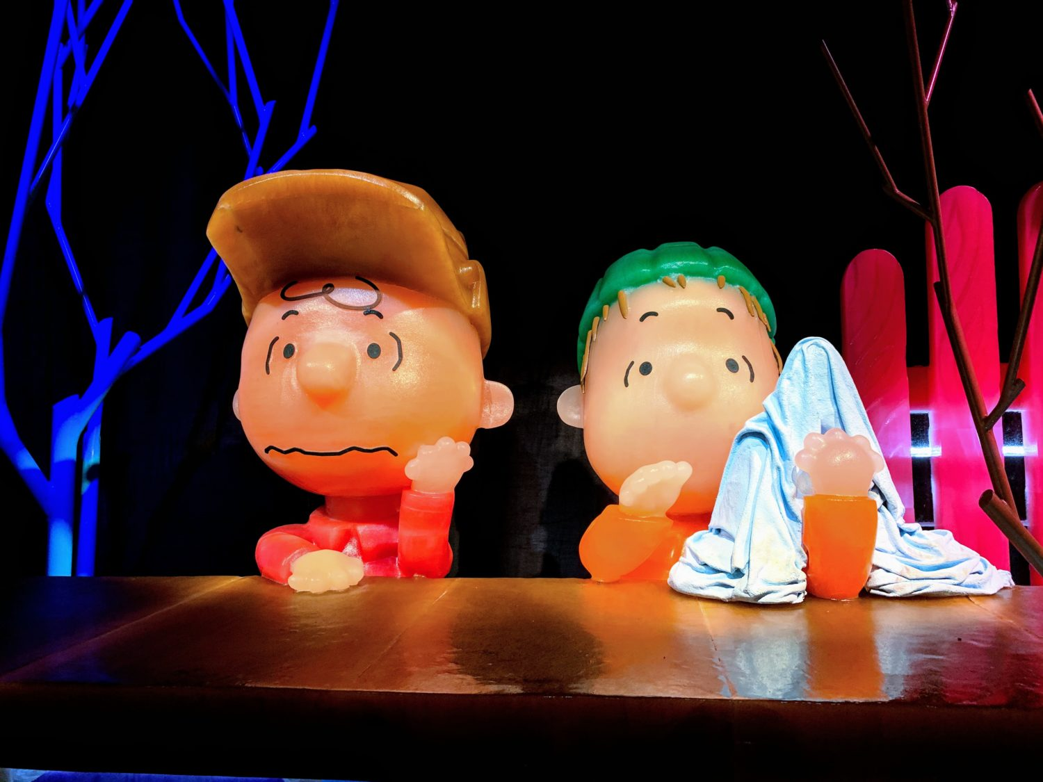 Charlie Brown with Linus