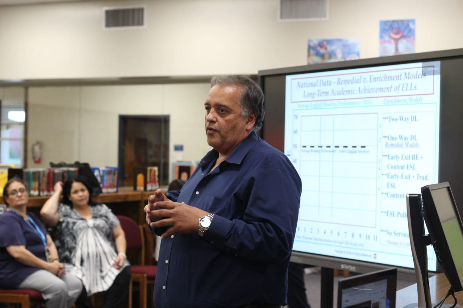 the district recently announced the adoption of the nationally recognized Gomez and Gomez instructional framework