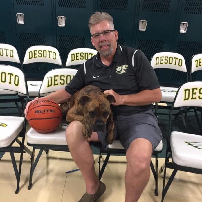 DeSoto Coach Chris Dyer
