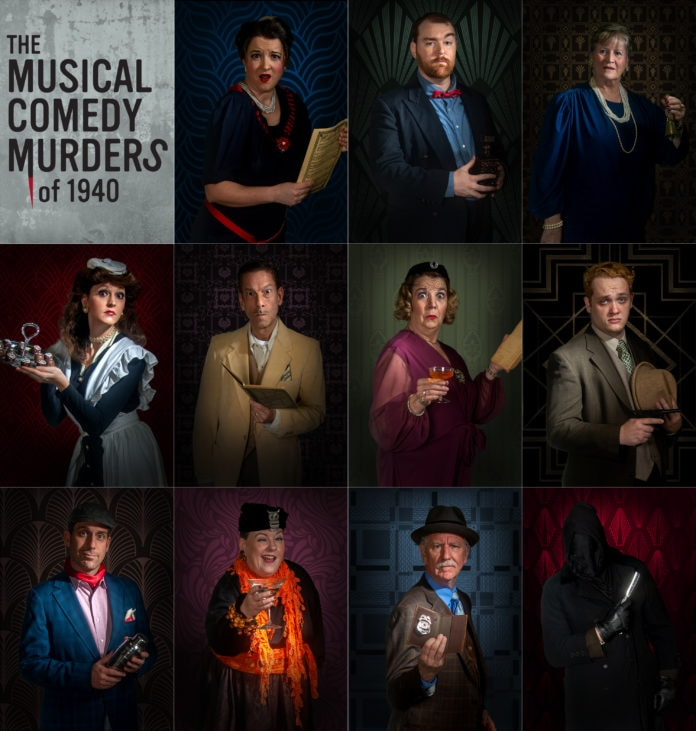 Musical Comedy Murders of 1940 at Artisan Center Theater