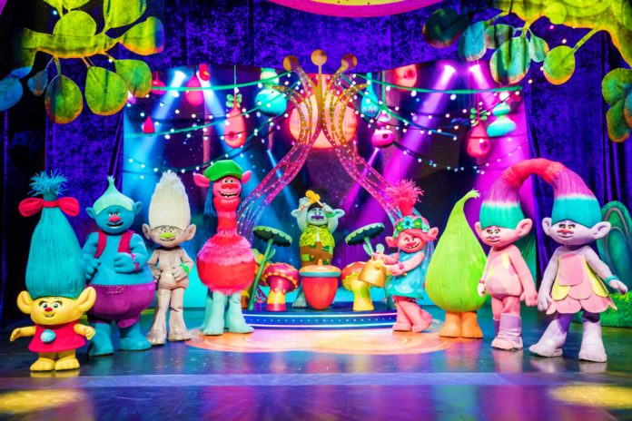 Trolls Live! Grand Prairie in February