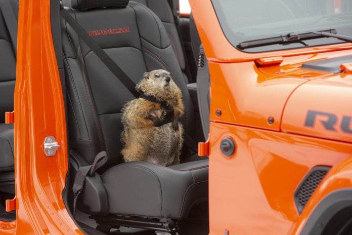 Jeep Groundhog Day ad