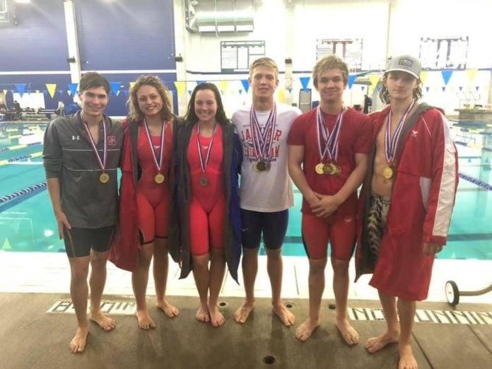 Midlothian swimmers