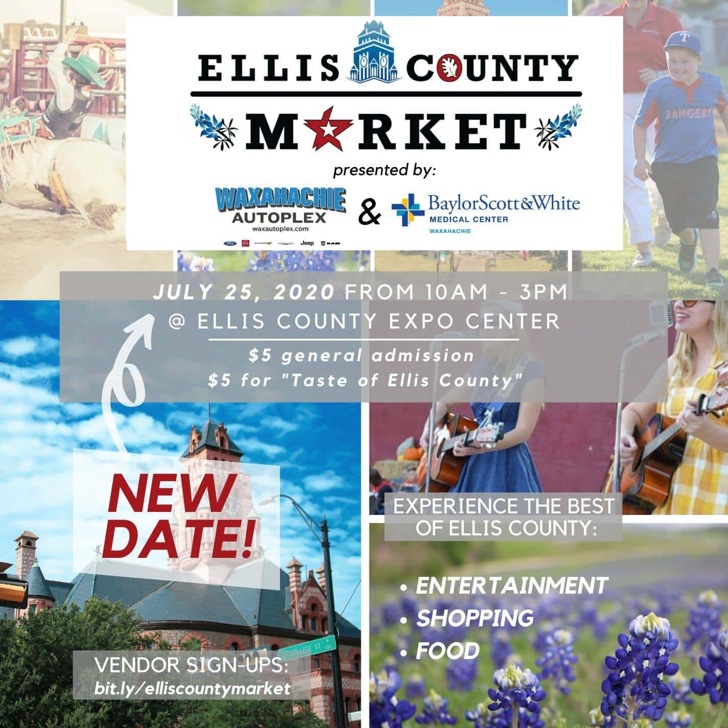 Ellis County Market postponed