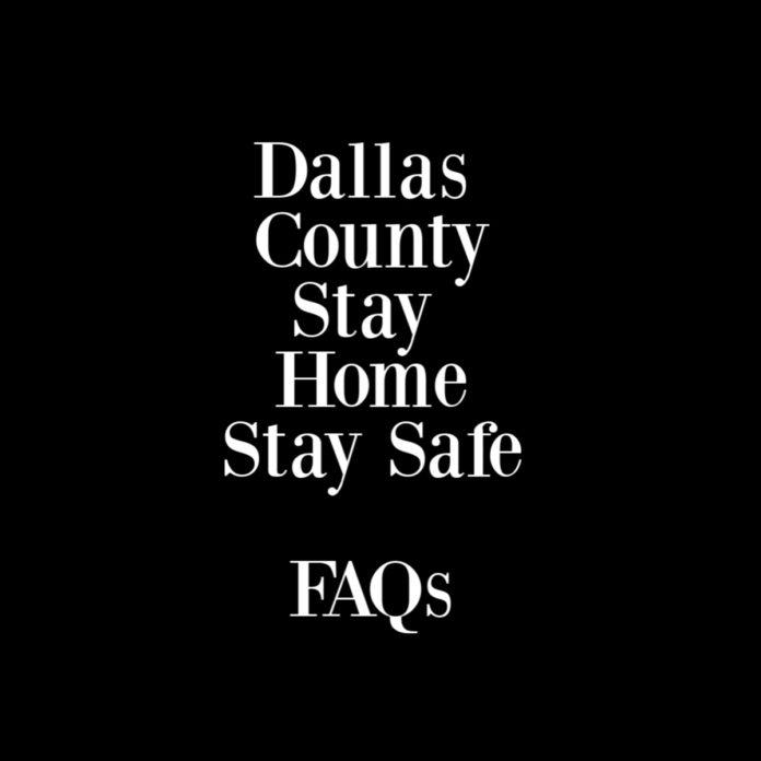dallas county stay home order
