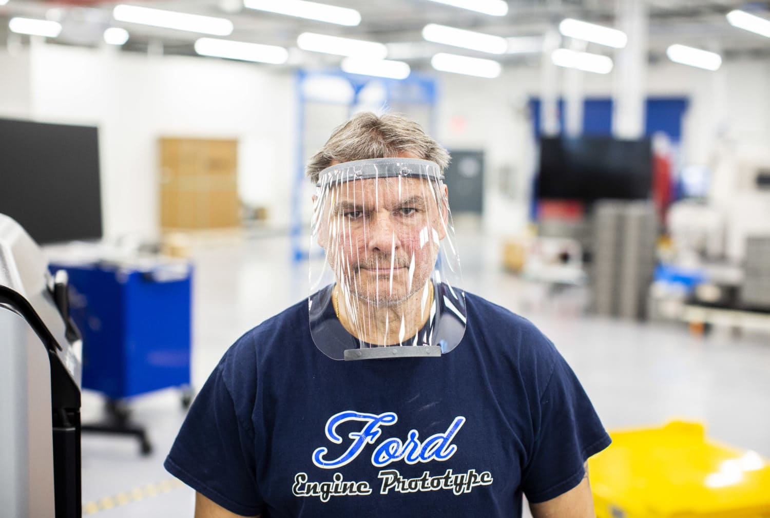 ford making face shields