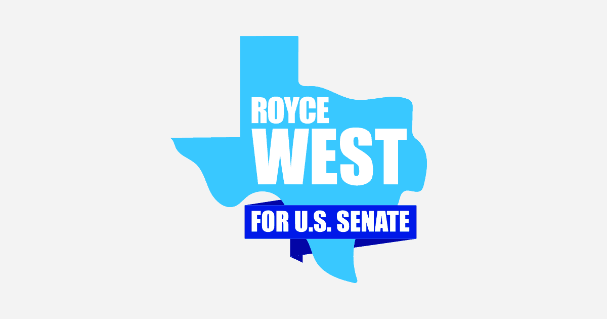 Royce West Senate logo