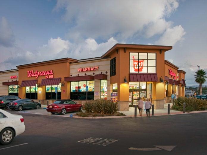 Walgreens drive-thru testing