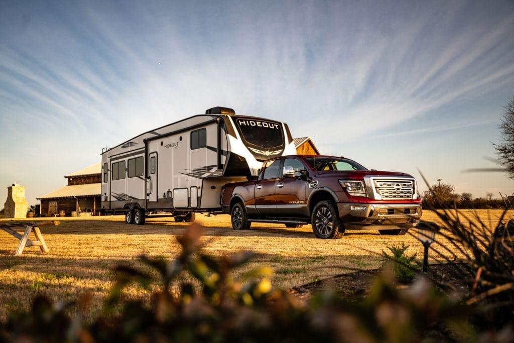 Nissan tests Titan at Blaine Stone Lodge