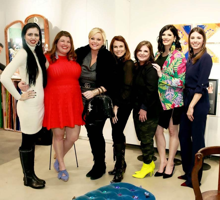 Art & Color Party Kicks Off 2020 Thrift Studioff 2020